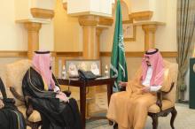 is Highness, Deputy Prince of Makkah Region receives the supervisor of Makkah Region, Saudi Arabia 2020 census