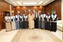 Prince of Hail Region receives the region's Supervisor regarding the Saudi Census 2020
